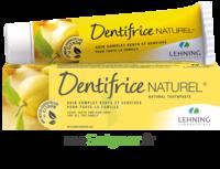 Lehning Pâte Dentifrice Homéopathique Citron T/80g à LABENNE