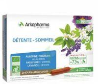 Arkofluide Bio Ultraextract Solution Buvable Détente Sommeil 20 Ampoules/10ml à LABENNE