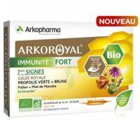 Arkoroyal Immunité Fort Solution Buvable 20 Ampoules/10ml à LABENNE