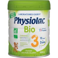 Physiolac Bio Lait 3éme Age 800g
