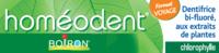 Boiron Homéodent Soin Complet Dents Et Gencives Pâte Dentifrice Chlorophylle Format Voyage T/25ml
