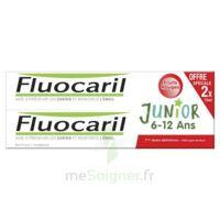 Fluocaril Junior Gel Dentifrice Fruits Rouges 6/12ans 2*75ml à LABENNE