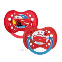 Dodie Disney Sucettes Silicone +18 Mois Cars Duo à LABENNE