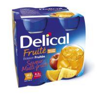 Delical Boisson Fruitee Nutriment Multi Fruits 4bouteilles/200ml à LABENNE