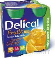Delical Boisson Fruitee Nutriment édulcoré Orange 4bouteilles/200ml à LABENNE