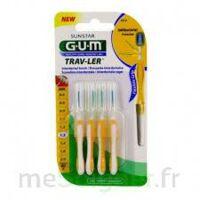 Gum Trav - Ler, 1,3 Mm, Manche Jaune , Blister 4 à LABENNE