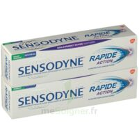 Sensodyne Rapide Pâte Dentifrice Dents Sensibles 2*75ml à LABENNE