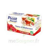 Picot Maman Tisane D'allaitement Fruits Rouges 20 Sachets à LABENNE