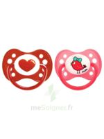 Dodie 2 Sucettes Anatomiques Silicone 6 Mois+ - Sirène & Flamand Rose