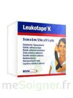 Leukotape K Sparadrap Noir 5cmx5m à LABENNE