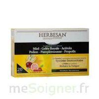 Herbesan Système Immunitaire 20 Ampoules à LABENNE