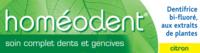 Boiron Homéodent Soin Complet Dents Et Gencives Pâte Dentifrice Citron 2t/75ml à LABENNE