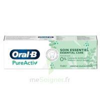 Oral B Pureactiv Dentifrice Soin Essentiel T/75ml à LABENNE