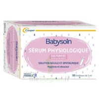 Babysoin Solution Sérum Physiologique 30 Unidoses/5ml à LABENNE
