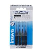 Inava Brossettes Mono-compact Noir Iso 0- 0,6mm à LABENNE